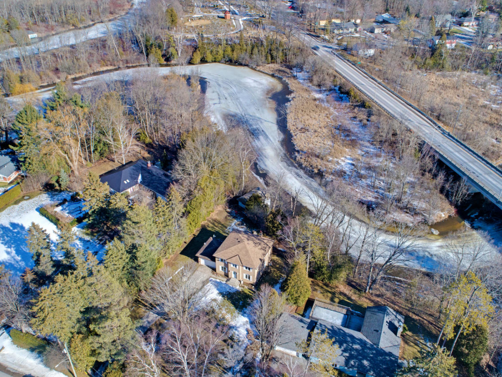 39 S River Rd, Georgina ON – Drone photography for real estate