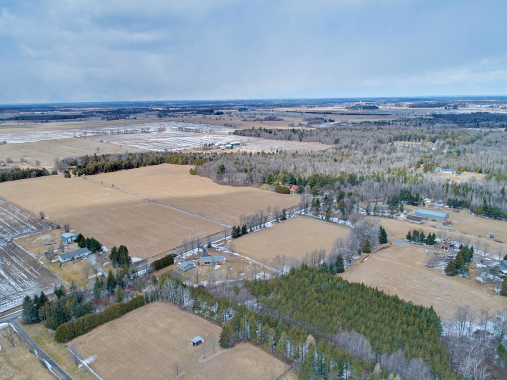 8229 Concession Rd 2, Mount Albert ON  – Drone Photography in Uxbridge