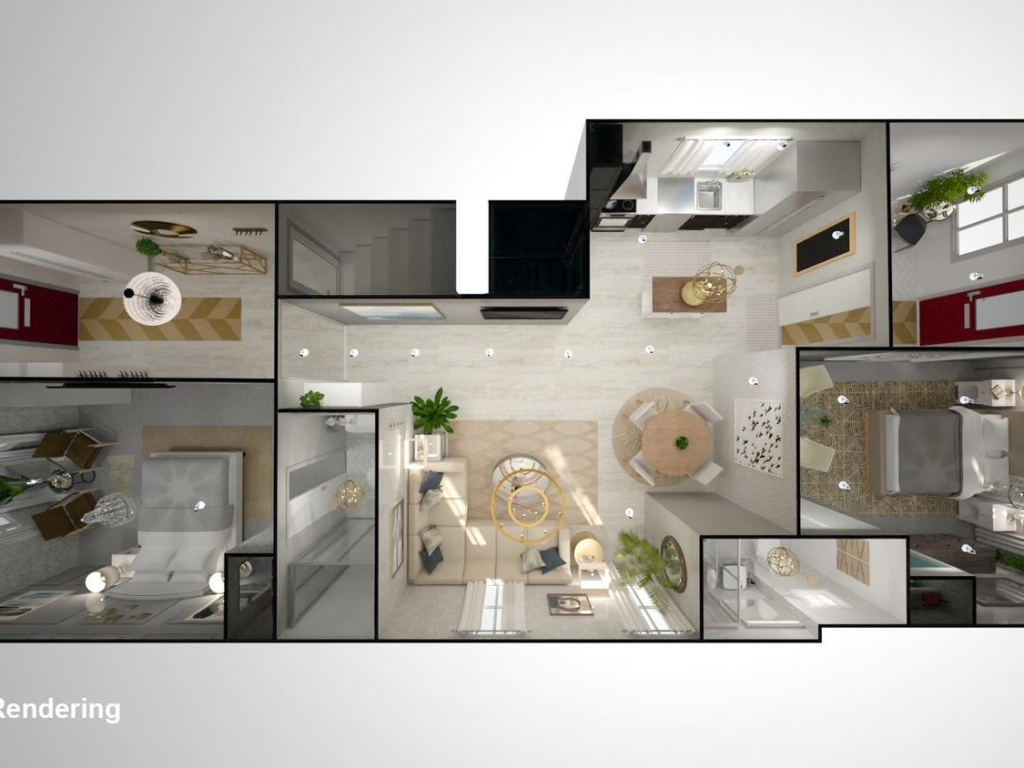 140 Prospect St, Newmarket ON – 3d Renderings and photography