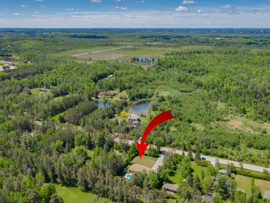 23007 Weir's Sideroad, Georgina ON – Drone photography for Real Estate
